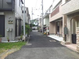 渋谷区代々木5丁目売地7350万円前面道路