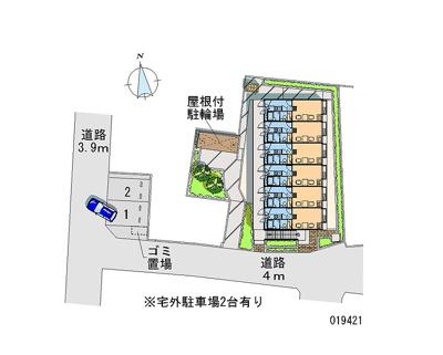 【区画図】パティオ・別館
