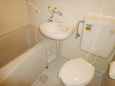 【浴室】メゾン荘園☆1R