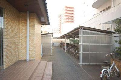 ロワールマンション西公園Ⅰ(3LDK) 駐輪場
