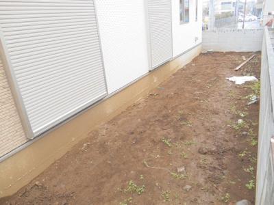 お庭が広々、家庭菜園可能!