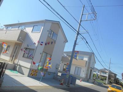 【外観】桶川市鴨川2丁目/新築分譲住宅