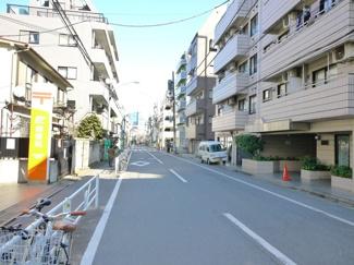 渋谷区本町5丁目売地4680万円前面道路1