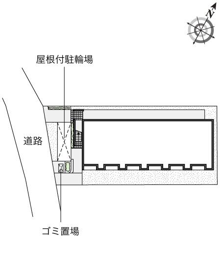 【区画図】レオネクストハピネス