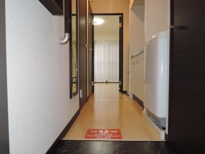 【玄関】レオネクストハピネス