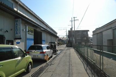 【駐車場】日野谷工場