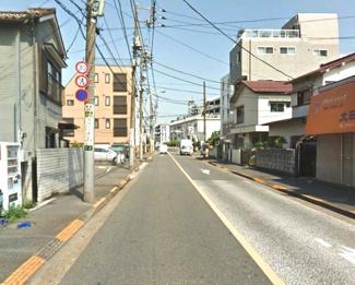 大田区萩中2丁目新築一戸建て5480万円前面道路1