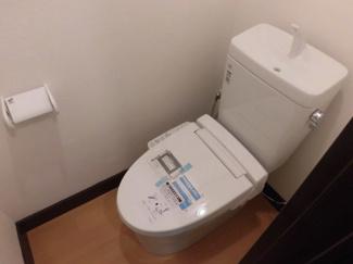 【トイレ】ウッディハイツ富田