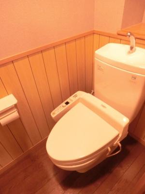 【トイレ】サンコート花山