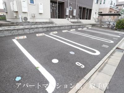 【駐車場】ソラージュB