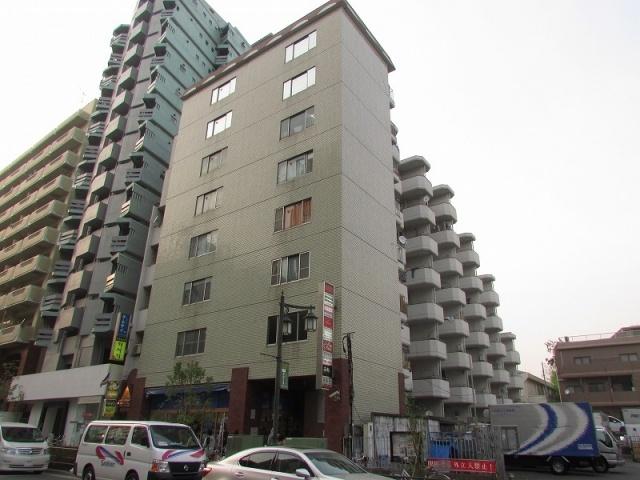 【外観】新宿フラワーハイホーム