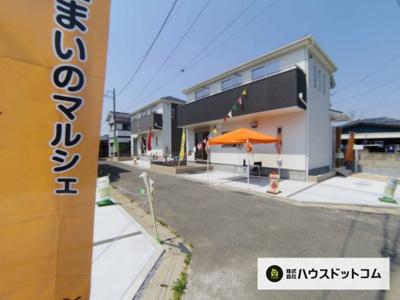 【外観】三郷市谷口新築分譲住宅全3棟  2号棟