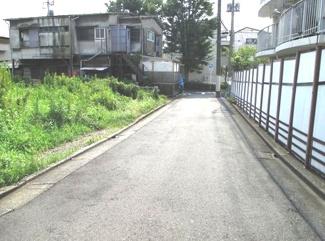 目黒区柿の木坂2丁目売地6880万円前面道路1