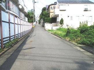 目黒区柿の木坂2丁目売地6880万円前面道路2