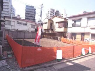 大田区東蒲田1丁目建築条件付売地3480万円現地写真1