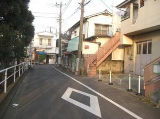 大田区大森東5丁目建築条件付売地3870万円前面道路1
