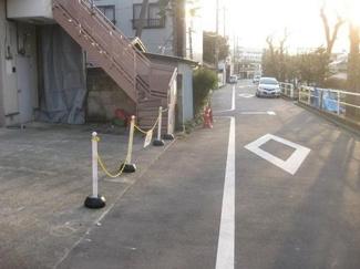 大田区大森東5丁目建築条件付売地3870万円前面道路2