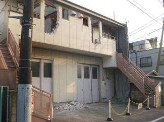 大田区大森東5丁目建築条件付売地3760万円現地写真