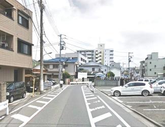 大田区多摩川2丁目売地4980万円前面道路1
