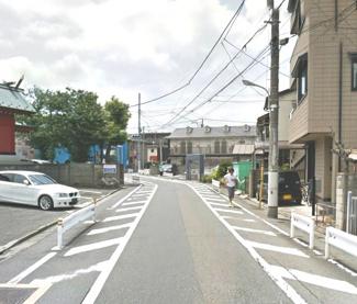 大田区多摩川2丁目売地4980万円前面道路2