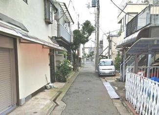 大田区多摩川2丁目売地4980万円前面道路3
