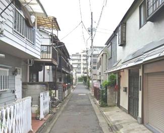大田区多摩川2丁目売地4980万円前面道路4