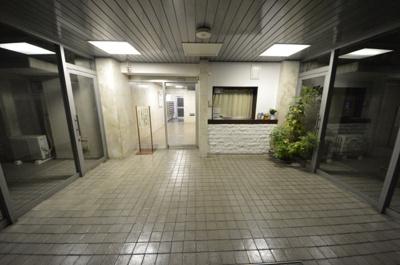 【エントランス】経堂セントラルマンション