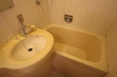 【浴室】キャメルコート