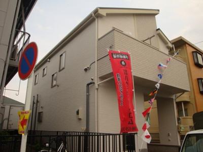 【外観】川口市芝西1丁目新築分譲住宅全1棟