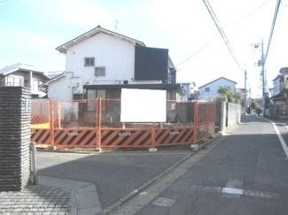 世田谷区経堂1丁目売地8280万円現地写真3