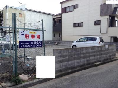 【外観】下坂部2丁目119-1ガレージ 管理番号39