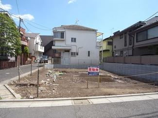 世田谷区駒沢4丁目売地6180万円現地写真2