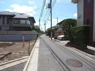 世田谷区駒沢4丁目売地6180万円前面道路1