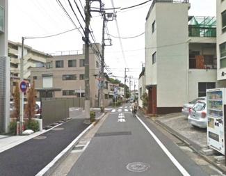 大田区下丸子1丁目新築一戸建て5580万円前面道路1