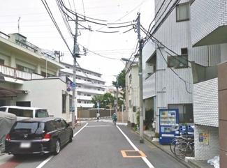 大田区下丸子1丁目新築一戸建て5580万円前面道路2