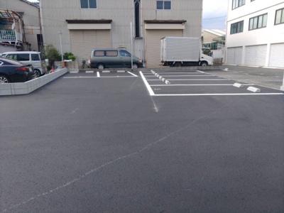 【外観】潮江4丁目10ガレージ
