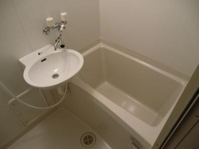 【浴室】レオパレスウッディーコート
