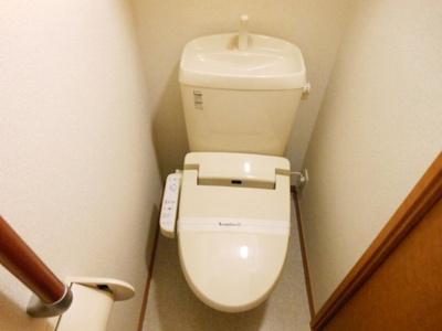 【トイレ】レオパレス水堂