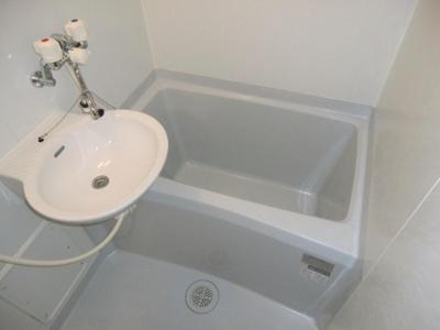 【浴室】レオパレス水堂