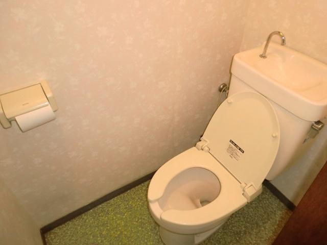 【トイレ】新井町橋本塗装一戸建て