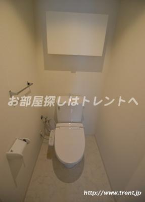 【トイレ】ソレーユ四谷三丁目