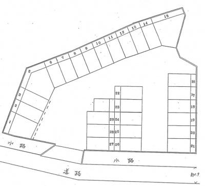 【区画図】久々知3丁目53-1ガレージ 管理番号35