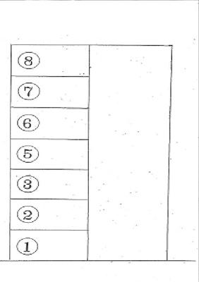 【区画図】久々知2丁目106-3ガレージ 管理番号19