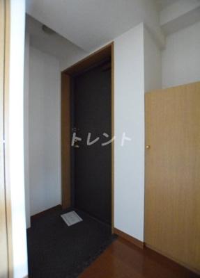 【玄関】パークウェル神楽坂弐番館