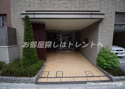 【エントランス】パークハウス飯田橋レジデンス
