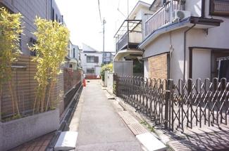 大田区東矢口2丁目建築条件付売地2130万円前面道路1