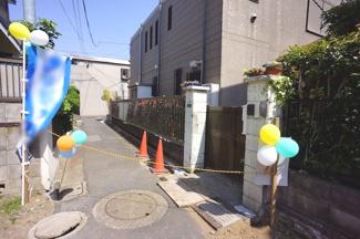 大田区東矢口2丁目建築条件付売地2130万円前面道路2