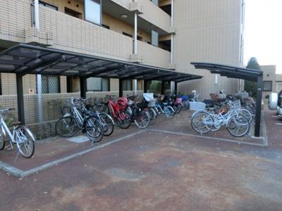 駐輪場☆バイク可