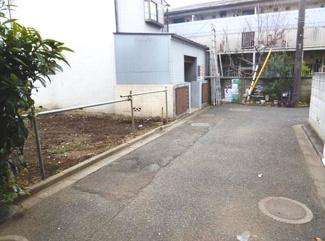 世田谷区上野毛1丁目売地4480万円前面道路1