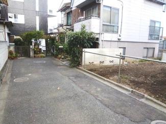 世田谷区上野毛1丁目売地4480万円前面道路2